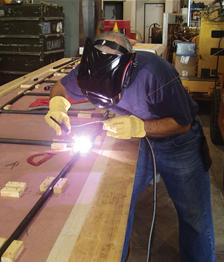 Failure of safety requirements in Tig Welding