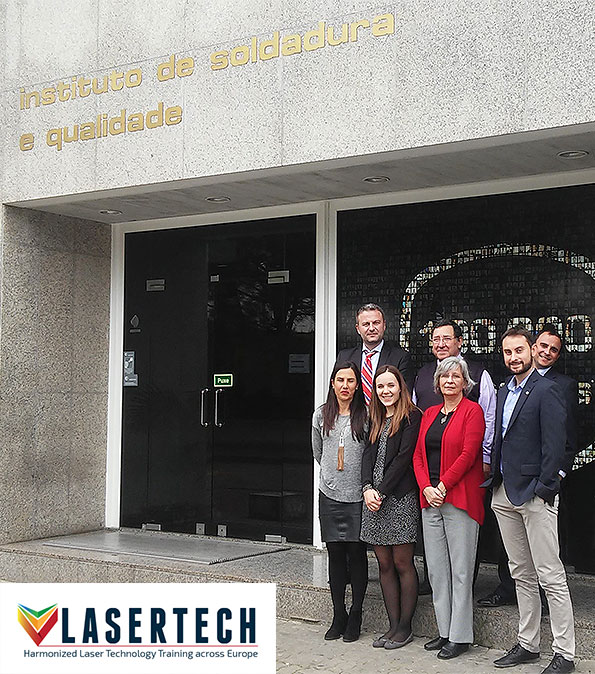Lasertech project 2nd official meeting in Porto Salvo (Portugal)