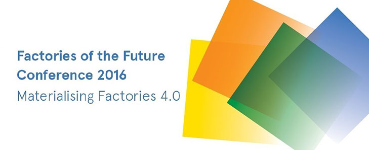 EWF invited as a speaker of the Factories of the Future Conference