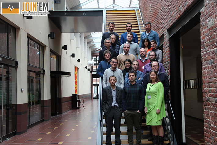 JOIN'EM mid-term meeting: an overview of the work developed so far