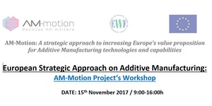 European Strategic Approach on Additive Manufacturing