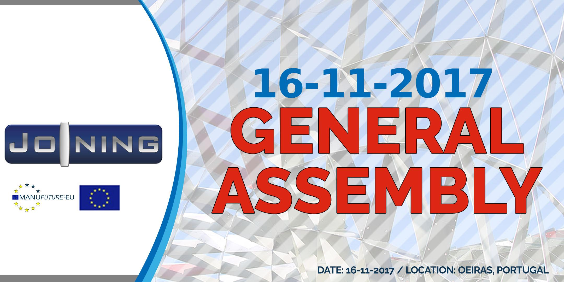 7th European Joining Platform General Assembly Meeting